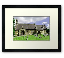 St Katherine's Church at Rowsley, Derbyshire Framed Print