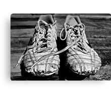 The Boy's Trainers Canvas Print