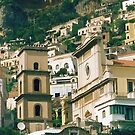 """Wish You Were Here - Positano, Italy by Christine """"Xine"""" Segalas"""