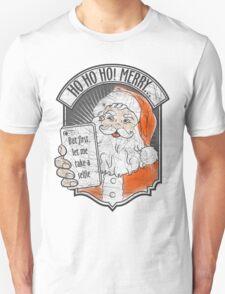 Santa Selfie Unisex T-Shirt