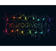 Neuron Diversity - Alternative Rainbow Photographic Print