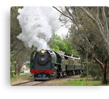 621 Steaming through Mount Barker Canvas Print