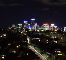 North Sydney at Night by Craig Oatway