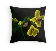 The Fractal Construction Engineers Throw Pillow