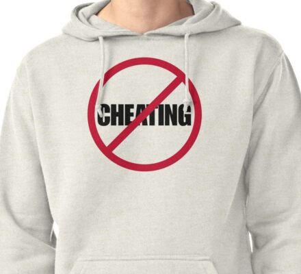 No Cheating Pullover Hoodie