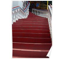The Red  Stairway to the Iguana Grill Poster