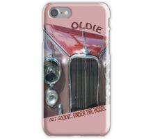 Oldie, But Goodie Under the Hood! iPhone Case/Skin