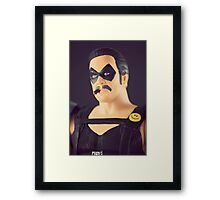 The Comedian Framed Print