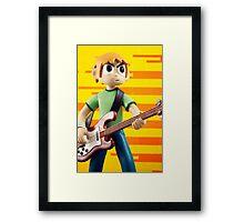 An Epic Hero.  Framed Print