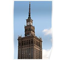 Palace of Culture and Science. Poster