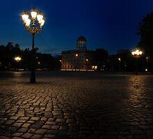 Berlin at night by pdsfotoart
