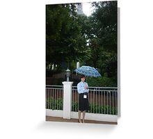 Sunshine on a Rainy Day Greeting Card