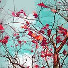 Leaves on branches by cycreation