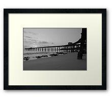 Catherine Hill Bay Framed Print