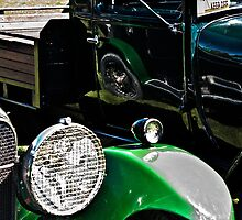 Vintage Green Reflections by Ubernoobz