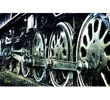 Big Wheels Photographic Print