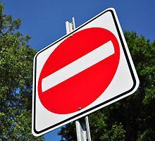 Do not enter sign. by FER737NG