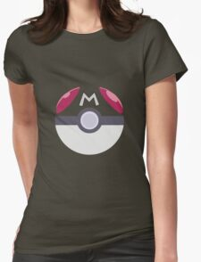 Pokemon - Master Pokeball Womens Fitted T-Shirt