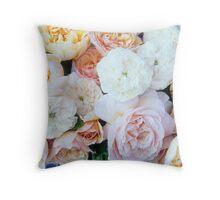 Lovina's June Roses #2 Throw Pillow