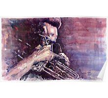 Jazz Miles Davis Meditation Poster