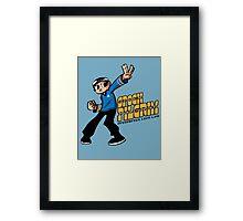 Spock Pilgrim Framed Print