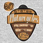 50 states of usa motorcycles by rogers bros by usa50states
