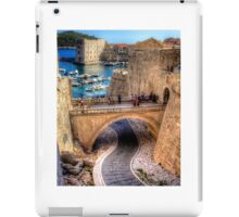 Path to the harbour iPad Case/Skin