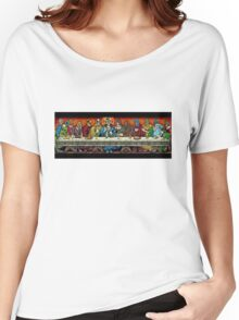 last supper of the lucha Women's Relaxed Fit T-Shirt