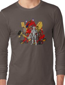 Upgraded Dalek with the robot master Long Sleeve T-Shirt