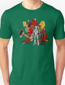 Upgraded Dalek with the robot master Unisex T-Shirt