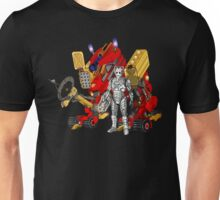 Upgraded Dalek with the robot master Unisex T-Shirt