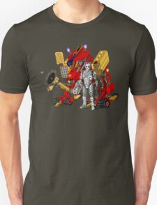 Upgraded Dalek with the robot master T-Shirt