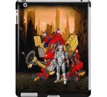 Upgraded Dalek with the robot master iPad Case/Skin