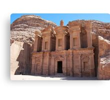 The Monastery, Petra, Jordan Canvas Print