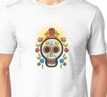 The print of Day of the Dead Unisex T-Shirt