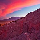 Petroglyph and Sierra Wave by Nolan Nitschke