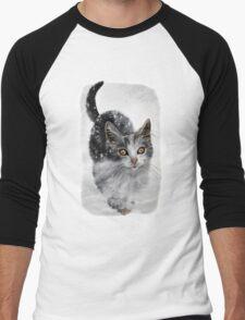Kitten in snow T-Shirt