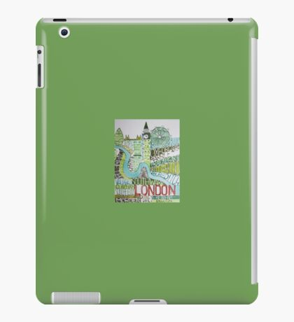 The city of London iPad Case/Skin