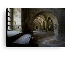 Fontenay Abbey Canvas Print