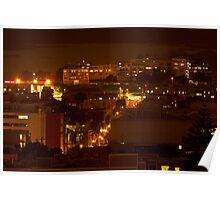 San Francisco Nights Poster