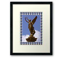 ❤ 。◕‿◕。 ☀ ツ I SHALL WEAR A CROWN ANGEL STATUE PRAGUE ❤ 。◕‿◕。 ☀ ツ Framed Print