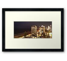 Night By the Water Framed Print