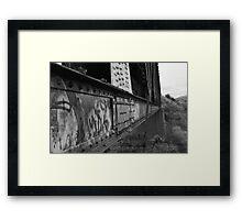 Trestle Rivets Framed Print