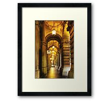 Lights of the GPO Framed Print