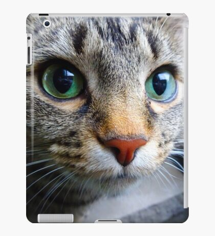 Emerald Eyes iPad Case/Skin