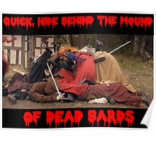 hide behind the dead bards Poster