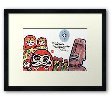The Light of the World Framed Print