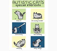 Autistic Cat's Special Interests Unisex T-Shirt