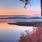Sunset on Padilla Bay by Dale Lockwood