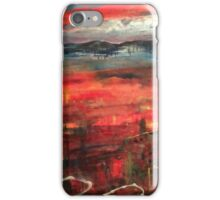 Indian summer sunset iPhone Case/Skin